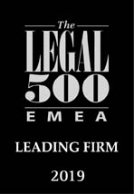 The LEGAL 500 EMEA- Leading Firm
