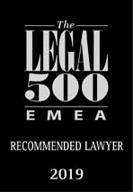 The LEGAL 500 EMEA- Recommended Lawyer